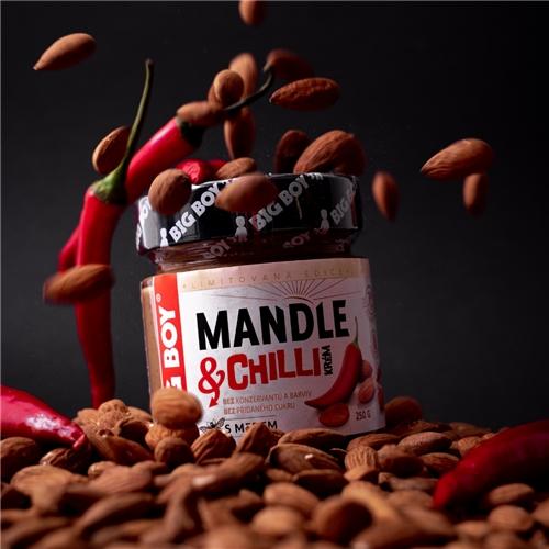 Mandlový krém s chilli pro milovníky ostré chuti